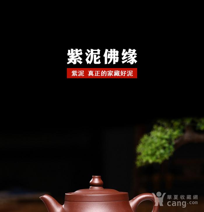 紫砂壶  佛缘壶图2