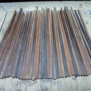 老红木筷子 红酸枝