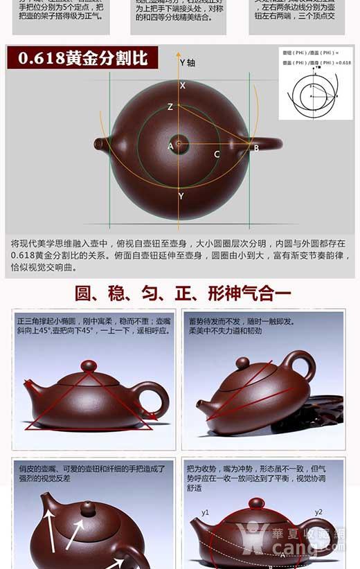紫砂壶  东坡石瓢壶图5