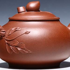 紫砂壶 仙桃壶