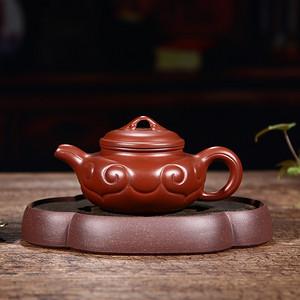紫砂壶  如意仿古壶