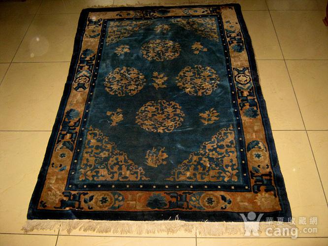 清代老地毯图1