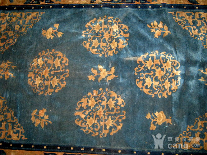 清代老地毯图4