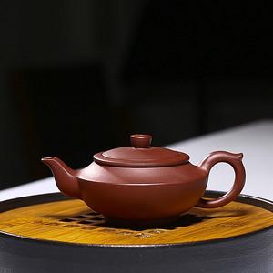 紫砂壶 汉扁壶