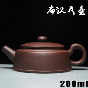 紫砂壶 扁汉瓦壶