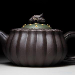 紫砂壶 高蜂菊茶壶