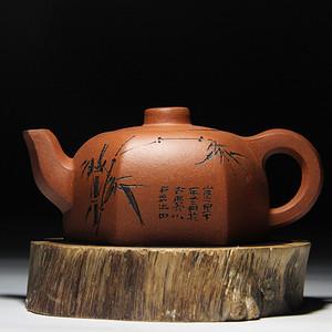 紫砂壶 六方君子壶