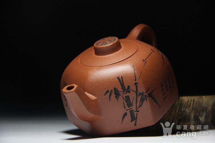 紫砂壶 六方君子壶图9