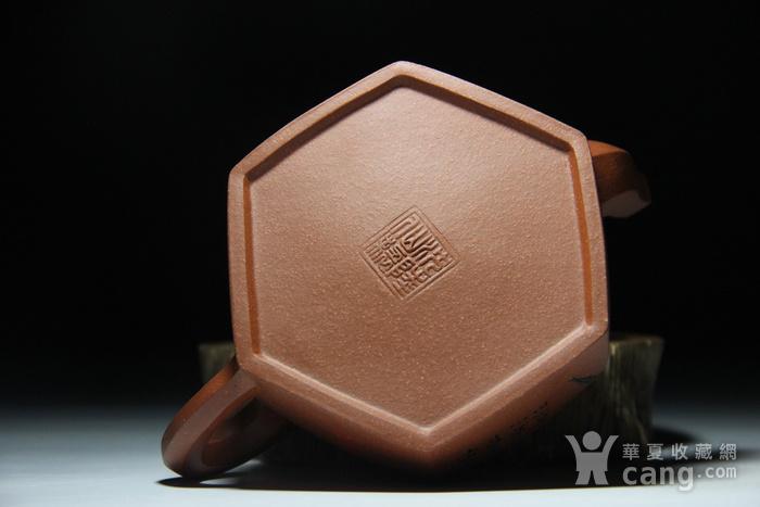 紫砂壶 六方君子壶图12