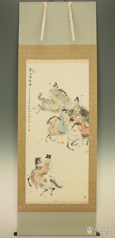 顾曾平,唐人马球图图1