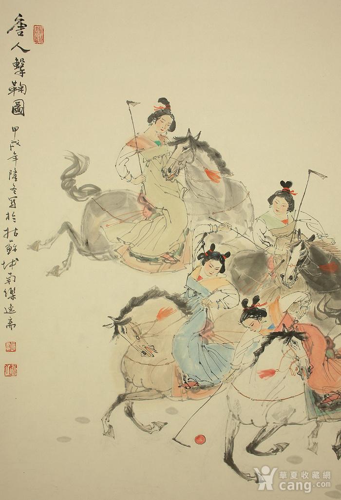 顾曾平,唐人马球图图3