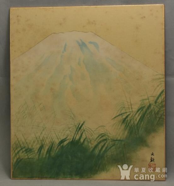 富士山,册页图2