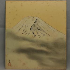 富士山,册页