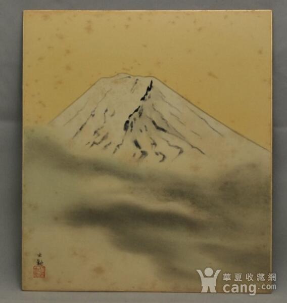 富士山,册页图1