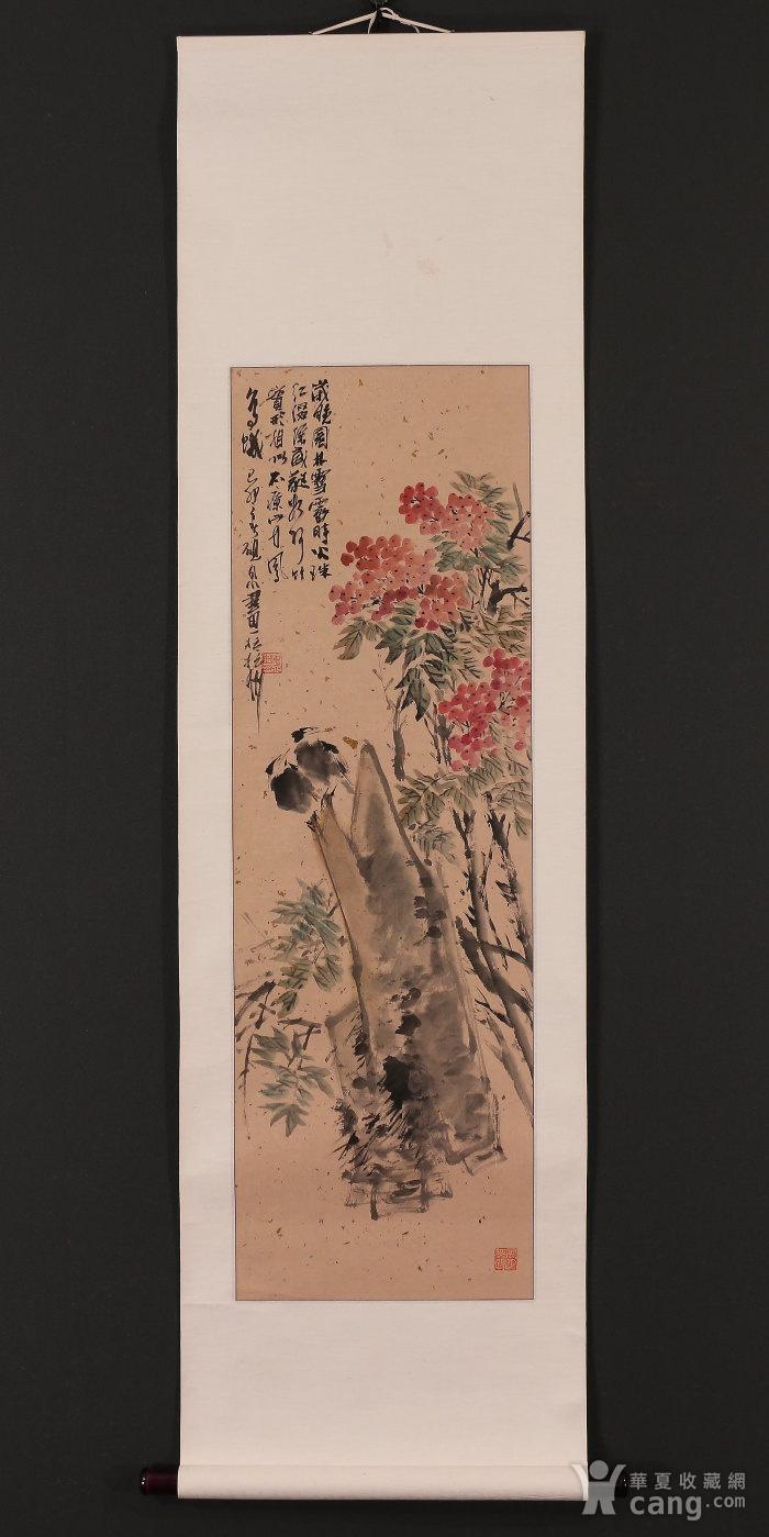 砚泉,花鸟图6