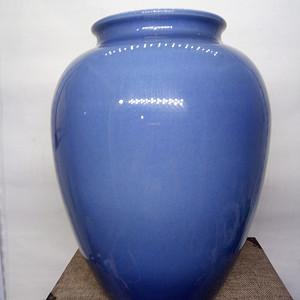 金牌 天蓝釉罐
