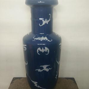 联盟 天蓝釉棒槌瓶