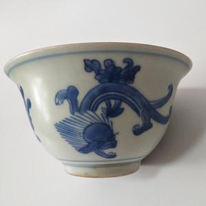 钻石 25 青花瓷碗