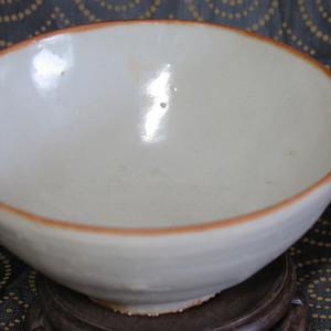 明代甜白釉大碗