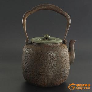 殿堂级藏品:大名家 寿郎 作品  老铁壶