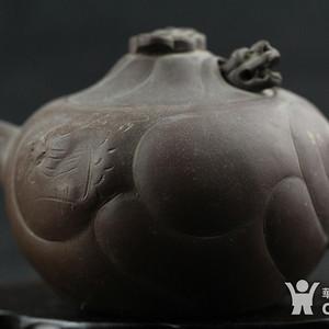 金牌 八九十年代全手工紫砂茶壶