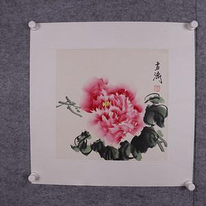 回流 手工原装原裱 王雪涛