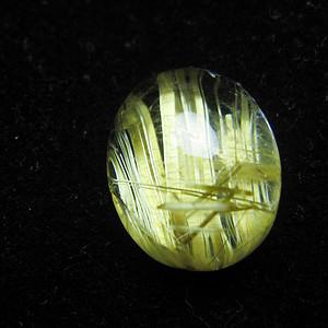 精品级 天然钛晶戒面