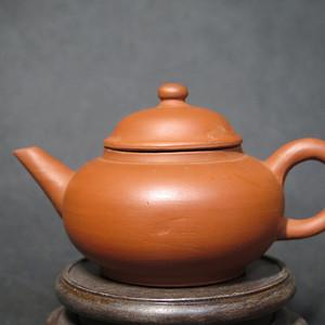 民国孟臣款红泥功夫茶壶