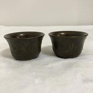 梅兰竹菊 酒杯