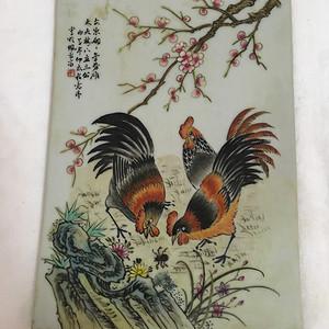 珠山八友 瓷板画