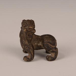欧洲回流铜狮子摆件