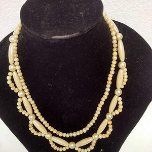 天然珍珠多宝贝项链  14