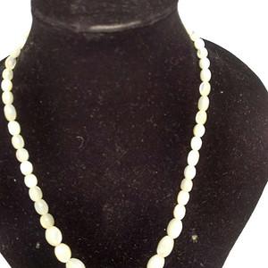 天然珍珠贝母项链  15