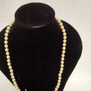 纯天然海水珍珠项链  16