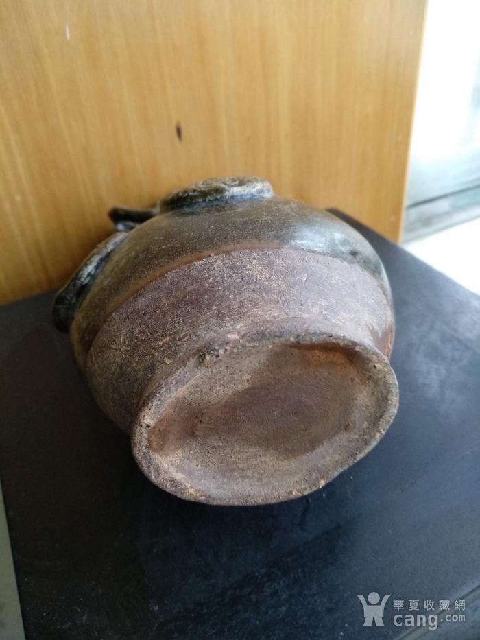 宋元螭龙双耳葫芦瓶。高18.8Cm。全品相图6