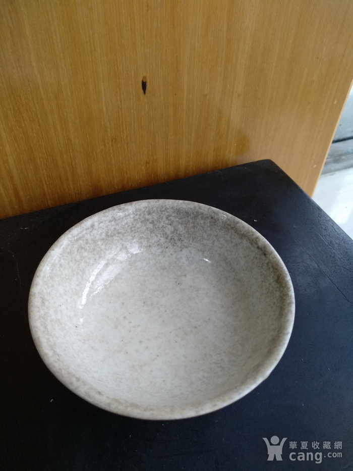 清雍正白釉小碗,口径8.5Cm,底径4.5Cm图2