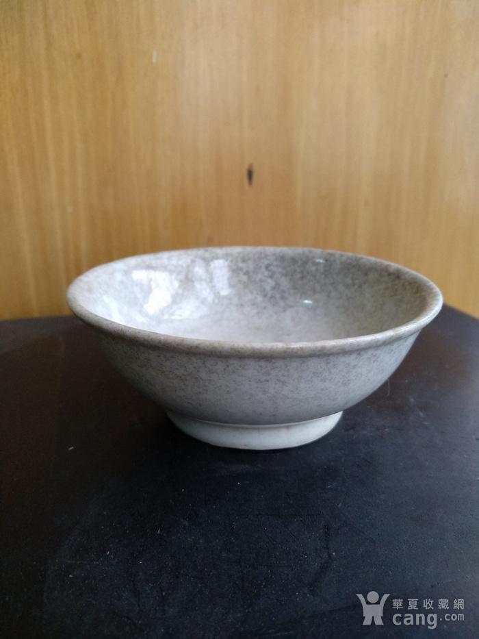 清雍正白釉小碗,口径8.5Cm,底径4.5Cm图1