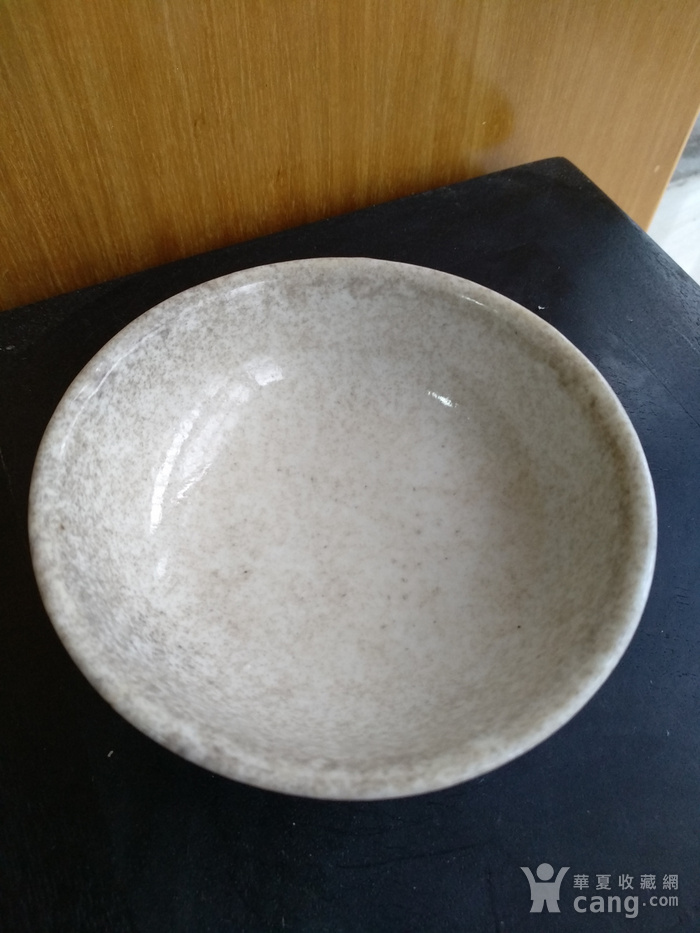清雍正白釉小碗,口径8.5Cm,底径4.5Cm图4