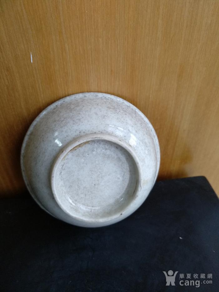 清雍正白釉小碗,口径8.5Cm,底径4.5Cm图3
