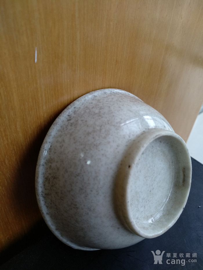 清雍正白釉小碗,口径8.5Cm,底径4.5Cm图5