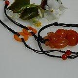 金牌  出口创汇时期的南红柿子红玛瑙原装项链