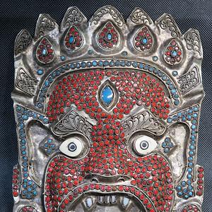 藏传佛教藏戏面具