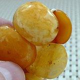 金牌 鸡油黄天然蜜蜡手排