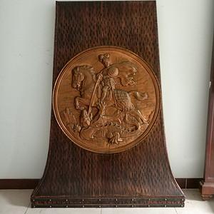 欧洲铜制神话人物故事壁炉挂