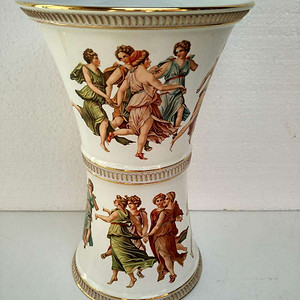欧洲艺术瓷:意大利精美粉彩神话人物故事瓷尊 19