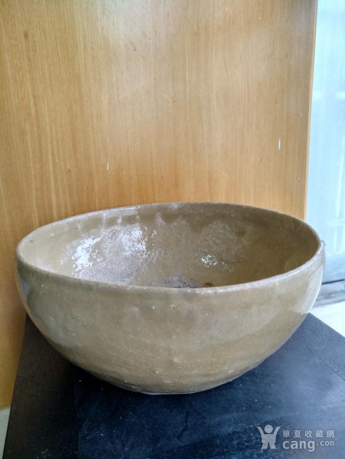 唐,越窑钵,高7Cm,口径16.6 15.9Cm。图3