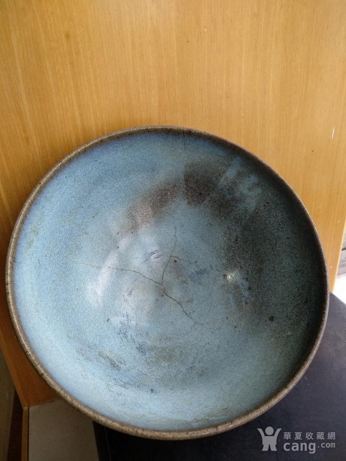 宋 元钧窑碗。口径17.5Cm,高85Cm。图5