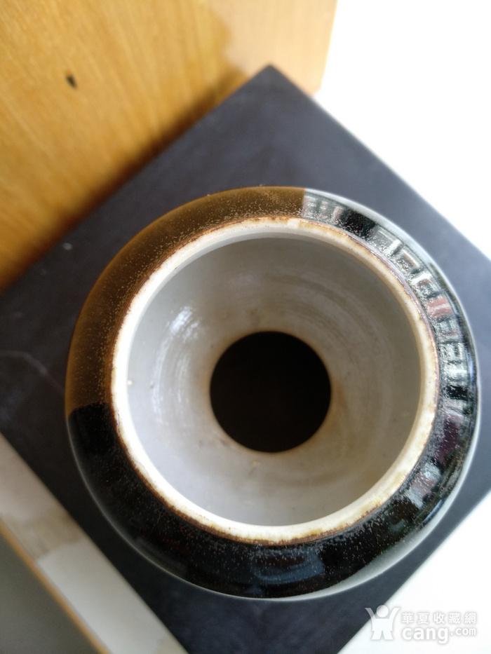 欧州回流。茶叶沫釉葫芦瓶,瓶,高:12,5Cm。图6