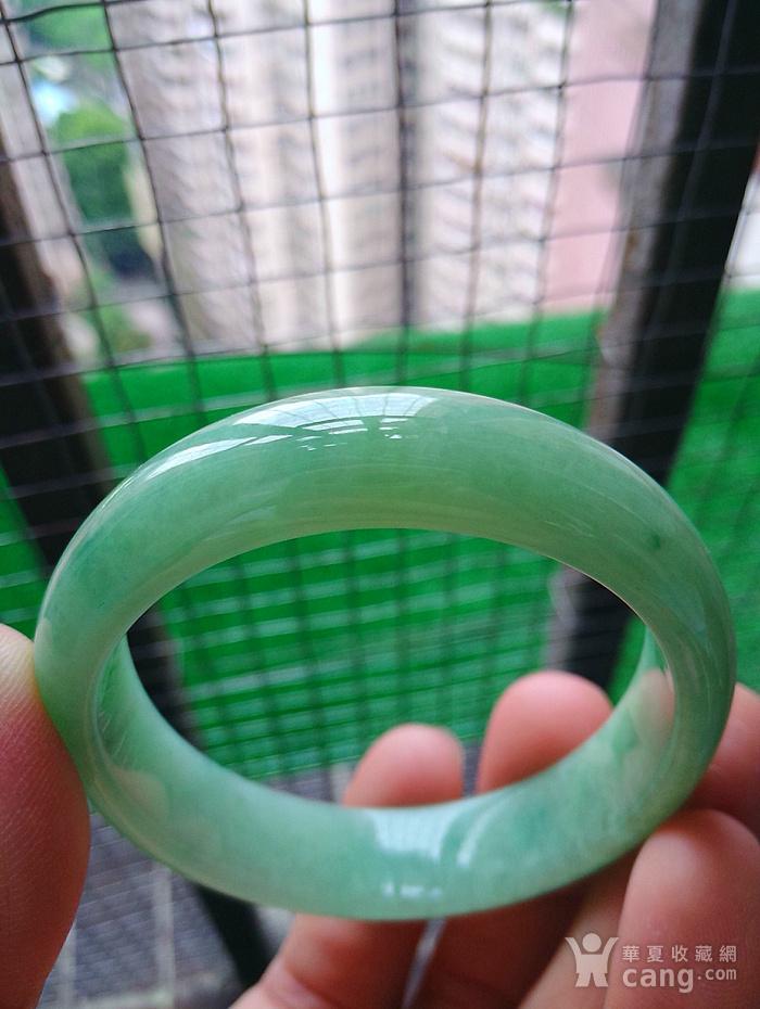 冰润阳绿贵妃手镯图3