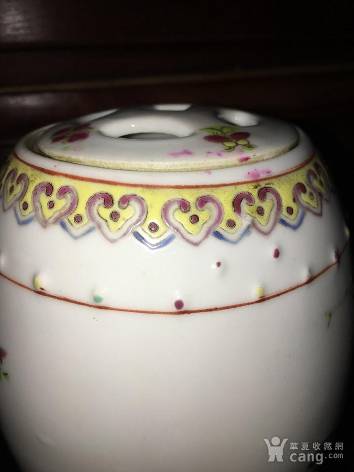 新粉彩鼓罐图4